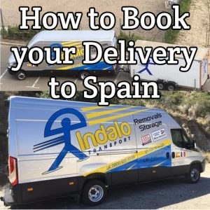 How to Book your Delivery to Spain