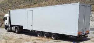 Indalo Transport removal to Europe trailer