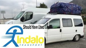 Should Have Used Indalo Transport