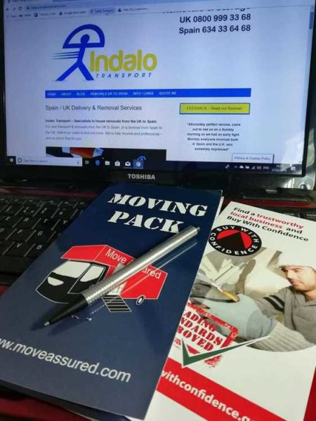 Indalo Transport Website